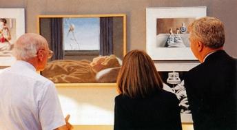Robert Pope's artwork on Illness and Healing