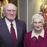 Rev. Bill Pope and Mrs. Isabel Pope