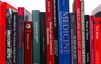 Books on art and health